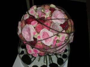 ramo de rosas color rosa claro